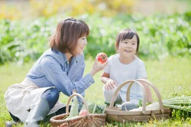 子どもと遊びを通じて食育する